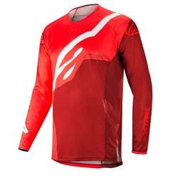 Calça e Camisa Alpinestars Techstar Factory 19 Vermelho