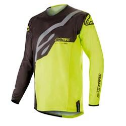 Calça e Camisa Alpinestars Techstar Factory 19 Preto Amarelo