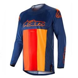 Calça e Camisa Alpinestars Techstar Venom 19 Azul Laranja