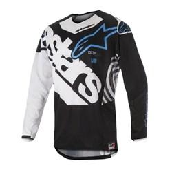 Calça e Camisa Alpinestars Techstar Venom 18 Preto Branco