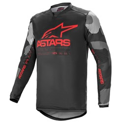 Calça e Camisa Alpinestars Racer Tactical 21 Cinza Vermelho
