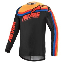 Calça e Camisa Alpinestars Techstar Venom 21 Preto Vermelho