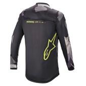 Calça e Camisa Alpinestars Racer Tactical 21 Cinza Fluor