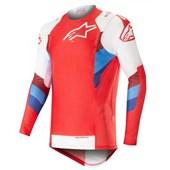 Calça e Camisa Alpinestars Supertech 19 Vermelho