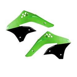 Aleta do Tanque Kxf 450 06/08 Xfun Verde Preto