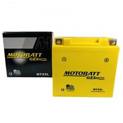 Bateria Motobatt Gel Crf 230 / Crf 250f 12v MTX5L