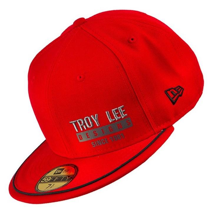 Boné Troy Lee Hinge Vermelho