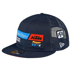 Boné Troy Lee Ktm Team Snapback Azul