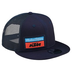 Boné Troy Lee Ktm Team Stock Snapback Azul