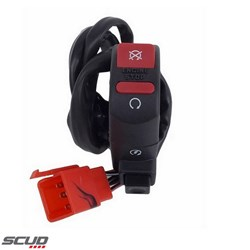 Botão Interruptor de Partida Scud Bros Nxr 150