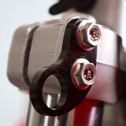 Brinco Moto Piercing Anker Preto