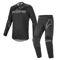Calça E Camisa Alpinestars Fluid Graphite 21 Preto