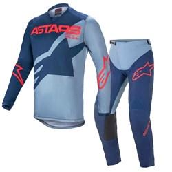 Calça E Camisa Alpinestars Racer Braap 21 Azul