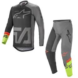Calça E Camisa Alpinestars Racer Compass 21 Cinza