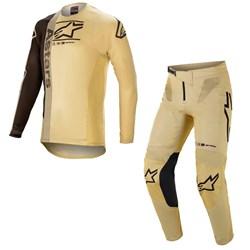 Calça E Camisa Alpinestars Supertech Foster 21 Areia Preto