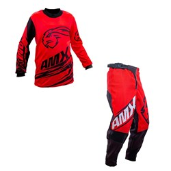 Calça E Camisa Amx Infantil Duo Vermelho