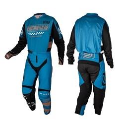 Calça E Camisa Asw 21 Image Knight Azul Preto