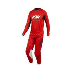 Calça E Camisa Asw 21 Podium Vertice Vermelho Branco