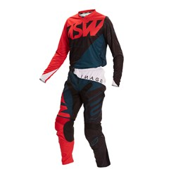Calça E Camisa Asw Image 2020 Dart Preto Vermelho