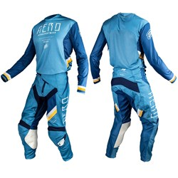 Calça E Camisa Asw Podium Race Empire Azul