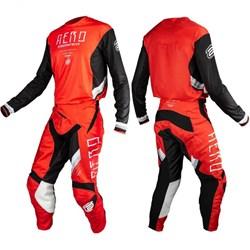 Calça E Camisa Asw Podium Race Empire Vermelho