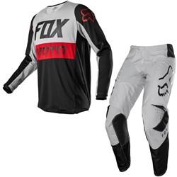 Calça E Camisa Fox 180 20 Prix Cinza