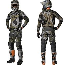 Calça E Camisa Fox 180 20 Przm Camo