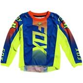 Calça E Camisa Fox 180 21 Infantil Oktiv Azul
