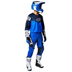 Calça E Camisa Fox 180 21 Revn Azul