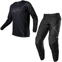 Calça E Camisa Fox 180 21 Revn Preto