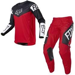 Calça E Camisa Fox 180 21 Revn Vermelho