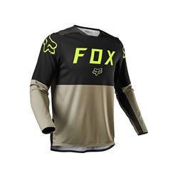Calça E Camisa Fox Legion Enduro Lt Areia Preto