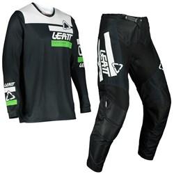 Calça E Camisa Leatt Moto 3.5 Ride 22 Preto Branco