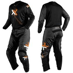 Calça e Camisa Mattos Racing Atomic Laranja Cinza