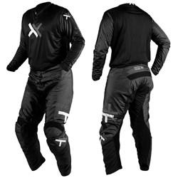 Calça e Camisa Mattos Racing Atomic Preto