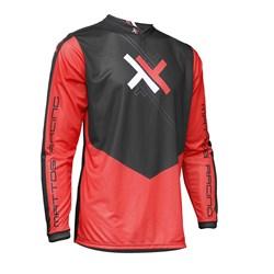 Calça e Camisa Mattos Racing Atomic Vermelho Preto