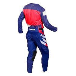 Calça e Camisa Racer On Azul Vermelho
