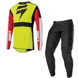 Calça E Camisa Shift 20 R3con Drift Cargo Fluor