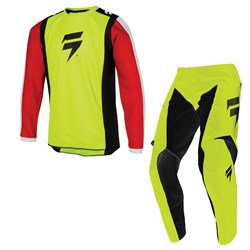 Calça E Camisa Shift Infantil Whit3 Race Fluor
