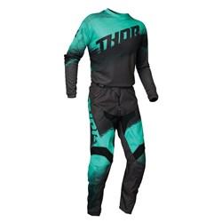Calça E Camisa Thor Sector Preto Verde