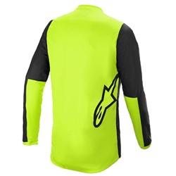 Camisa Alpinestars Fluid Tripple 21 Preto Amarelo Fluor
