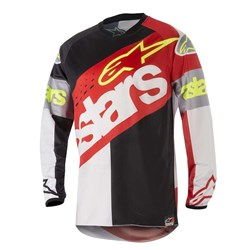 Camisa Alpinestars Racer Flagship18 Vermelho Preto