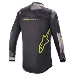 Camisa Alpinestars Racer Tactical 21 Cinza Fluor
