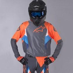 Camisa Alpinestars Supertech 19 Laranja Fluor
