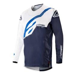 Camisa Alpinestars Techstar Factory 19 Branco Azul