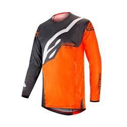 Camisa Alpinestars Techstar Factory 19 Cinza Laranja