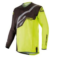 Camisa Alpinestars Techstar Factory 19 Preto Amarelo