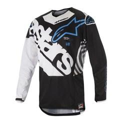 Camisa Alpinestars Techstar Venom 18 Preto Branco