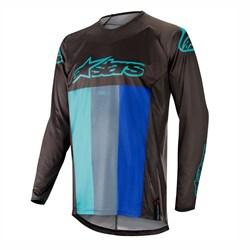 Camisa Alpinestars Techstar Venom 19 Preto Azul