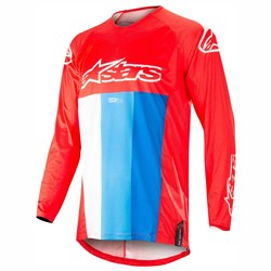Camisa Alpinestars Techstar Venom 19 Vermelho Azul